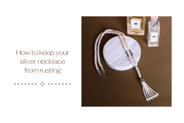 How to keep your silver necklace from rusting